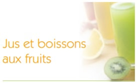 Jus et boissons aux fruits by GrapSud