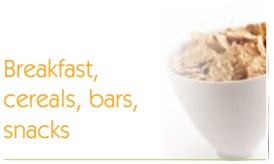Breakfast cereals, bars and snacks by GrapSud